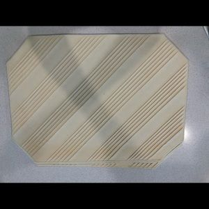 Other - Set of 4 Cream Cloth Placements
